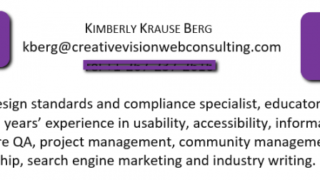 Screen shot of a resume.